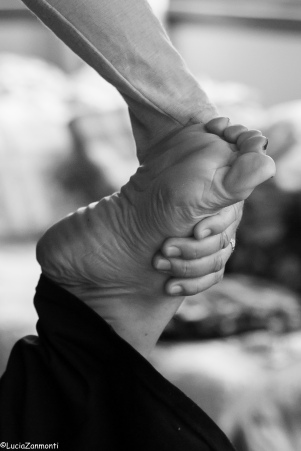 yoga massage reflexology at Odette Rowe Wairarapa yoga workshop