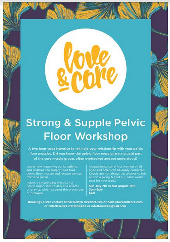 love and core pelvic floor